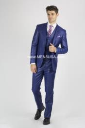 Suit For boy / Guys Royal Blue