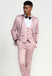 Rose Gold One Chest Pocket Suits