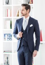 1920s Fashion Clothing Wedding Striking Custom Made Blue Wedding