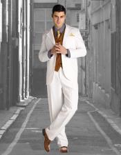 1920s Fashion Clothing Wedding Striking Custom Made Off-White Wedding