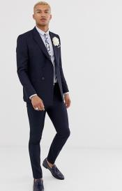 Slim Fit Double Breasted suit 4
