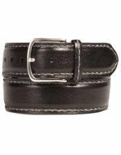 AO10474 By Mezlan Belt In Black