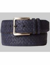 AO10359 By Mezlan Belt In Blue