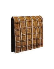 Alligator Skin Wallet - Crocodile Wallet