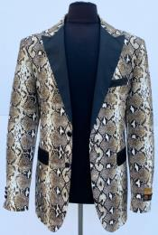 Skin Python Sport Jacket Blazer Alligator ~ Crocodile ~