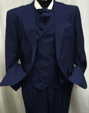 Mens Navy Blue One Chest Pocket