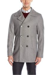 Light Grey ~ Wine Six Button Welt Slash Pockets