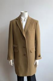 Wool Three Quarter Ticket Pocket Peacoat ~ Carcoat ~