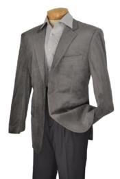 Velour Blazer Jacket  Brand Mens