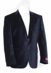 Velour Blazer Jacket Black Luxurious soft