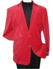 Brand new Red Velour Blazer