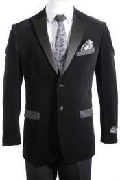2 Button Velvet ~ velour Blazer