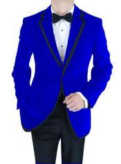 Jacket Velvet Velour Blazer