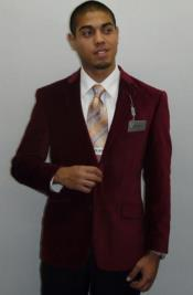 Mens Burgundy Hottest Fashion Mens Casual