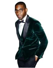 Mens Green Velvet Blazer Mens Olive
