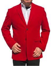 Nardoni Brand Red Velvet ~ velour Blazer Jacket Cheap