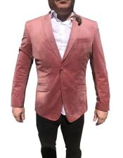 Mens Velvet Blazer ~ Sportcoat velour Blazer Jacket