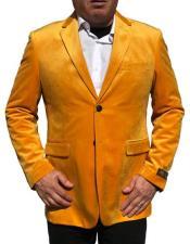 Nardoni Brand Gold ~ Mustard ~ Yellow Velvet velour