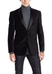 Priced Black Big And Tall Blazers Clearance Velvet ~