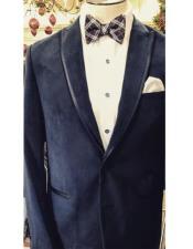 Fancy Tuxedo velour Blazer Jacket ~ Velvet Trim Wedding