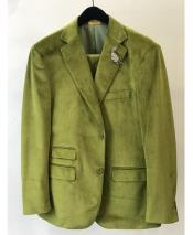 Velvet ~ Velour Sport Coat Mint ~ Green ~
