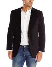 Mens Hottest Fashion Velvet Black Blazer