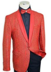 Red Satin Classic Historically Woven Touch