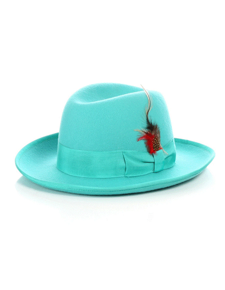 Emerald Godfather Hat