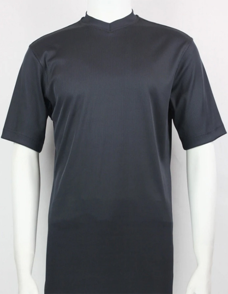 Charcoal Bassiri Short Sleeve Shirts