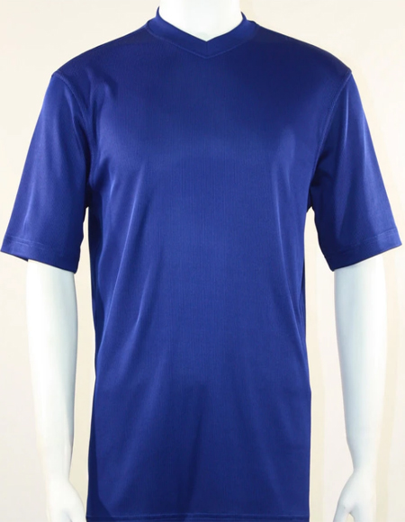 Blue Bassiri Short Sleeve Shirts for Men