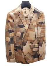 Fancy Fashion Suit Jacket and Pants