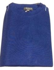 Royal Blue Pronti Shiny Long Sleeve