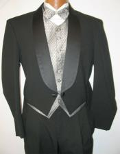 Mens Tailcoat Mens Black Wool Shawl