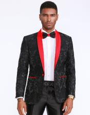 Black Prom Suits Jacket