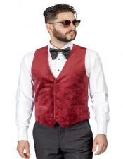 Velvet Vest Waistcoat