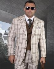 mens checker suits