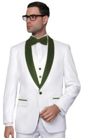 Wedding ~ Prom White Tuxedo with