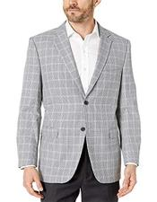 Mens Plaid Mini Checker Modern fit