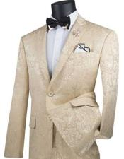Paisley Slim Fit Prom