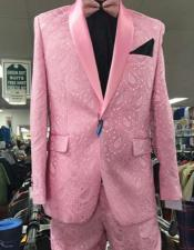 Prom Paisley ~ Floral Suits / Wedding Tuxedos Jacket