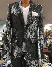 Mens Prom Paisley ~ Floral Suits