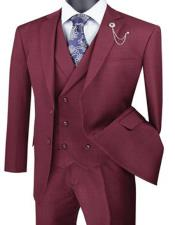 And Tall Solid Color Mens Suit