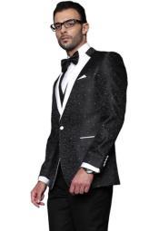 Paisley Floral Suit & Tuxedo Jacket