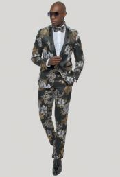 Gold Tuxedo - Black and Gold