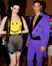 Suit Outfit Costumes Purple