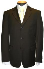 Suit - Funeral Attire - Black Suit for Funeral