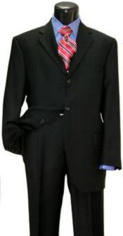 Mens Black Suit for Funeral