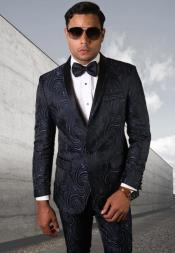 Ultra Slim Fit Prom Suit or Wedding Suit for