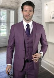 Mauve Ultra Slim Fit Prom Suit