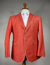 Mens Colorful Summer Linen Suit (Jacket)